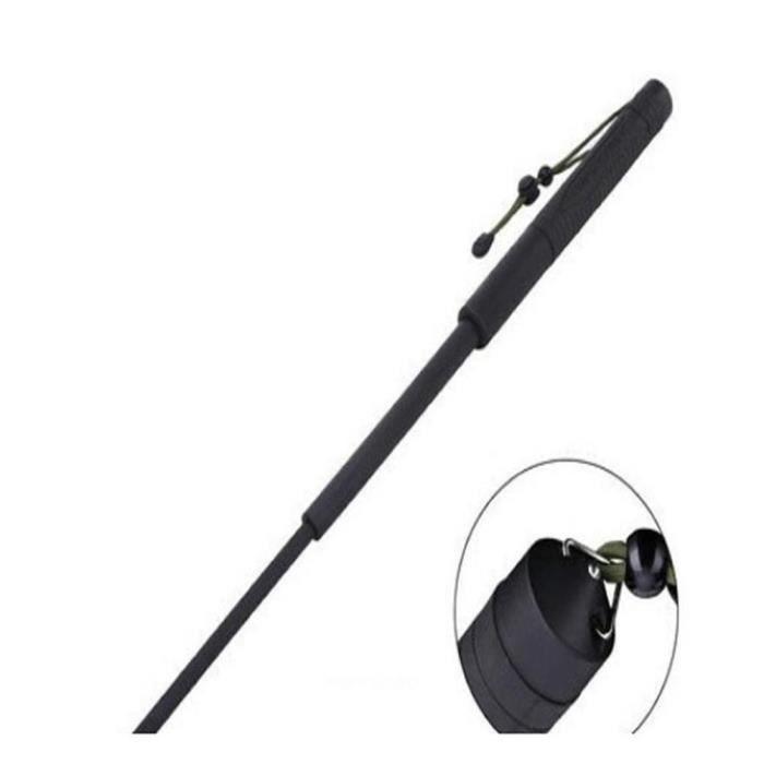 BATON - BOKEN Bâton Batte Auto-défense Portable rétractable Téle