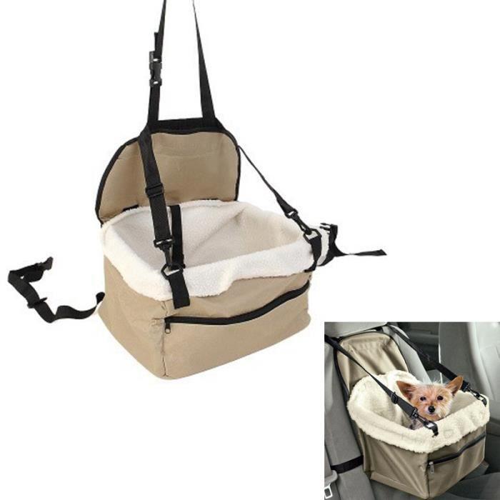 si ge de voiture sac de transport pour chien ou chat pet car booster seat achat vente pare. Black Bedroom Furniture Sets. Home Design Ideas