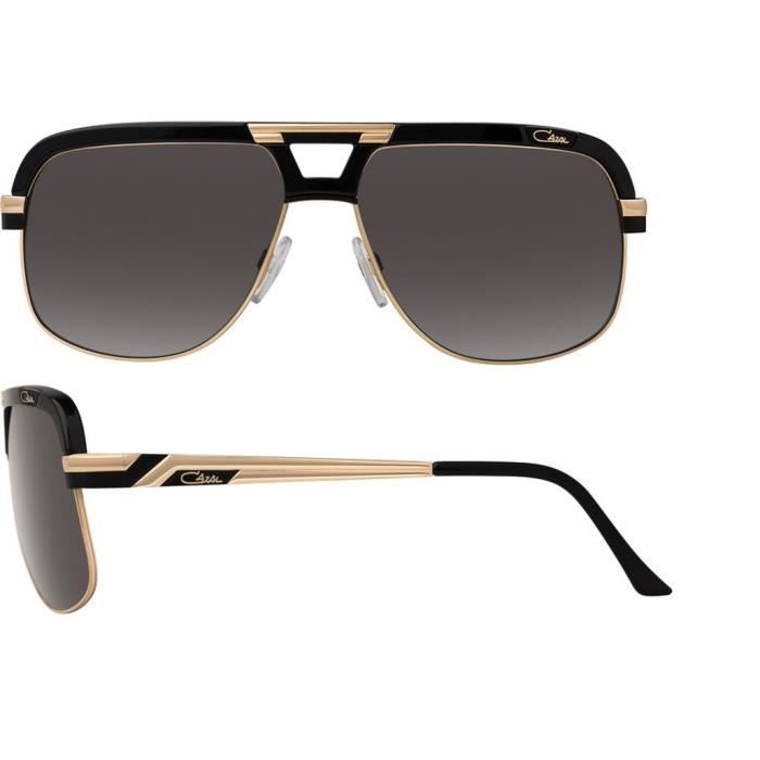 CAZAL 986 001 Noir et or. - Achat   Vente lunettes de soleil Homme ... edc111faf0c5