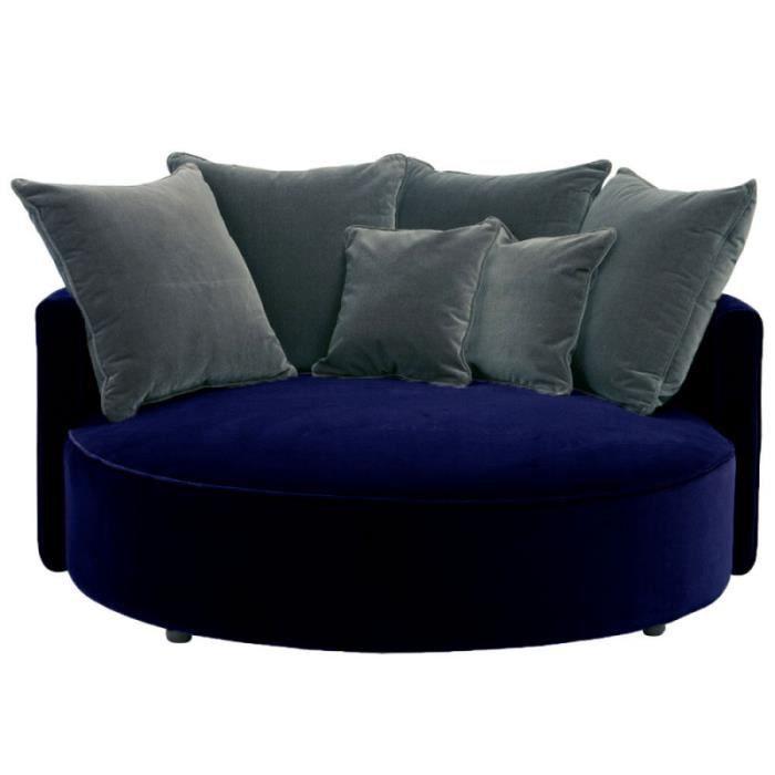 saturne fauteuil rond en velours bleu 110 cm Résultat Supérieur 50 Inspirant Fauteuil Velours Bleu Marine Stock 2017 Xzw1