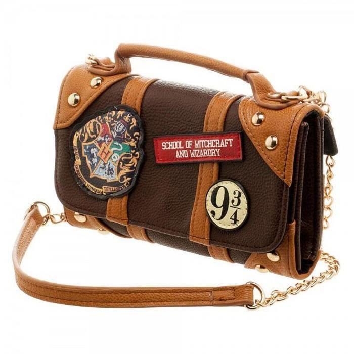 PORTEFEUILLE Mini sac portefeuille avec bandoulière poudlard 9