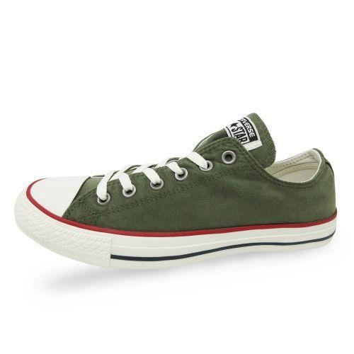 CONVERSE - Converse - Chaussure toile basse olive CTAS OX - (KAKI - 41)