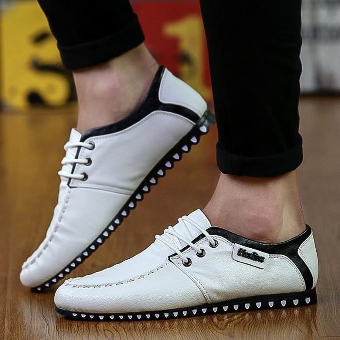 2016 nouvelles baskets pour homme Casual hommes confortables chaussures de marcheblanc39,blanc39