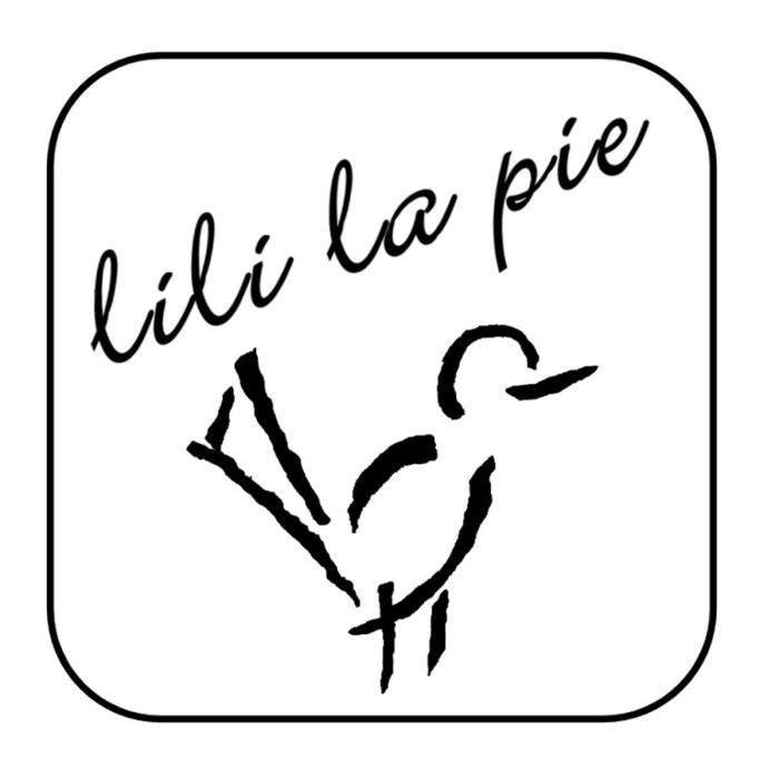 LILI la PIE Boucles doreilles type clip rond collection FROU FROU