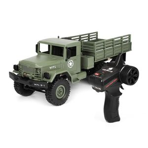 CAMION ENFANT WPL B-16 1/16 2.4G 4x4 RC camion tout-terrain Voit
