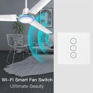 VENTILATEUR DE PLAFOND UE intelligent WiFi au plafond Ventilateur APP MIN