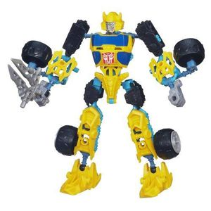 FIGURINE - PERSONNAGE Transformers Construct-Bots Scout Class Bumblebee
