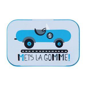 Boîte de classement Petite Boîte à Bons Points METS LA GOMME En Métal