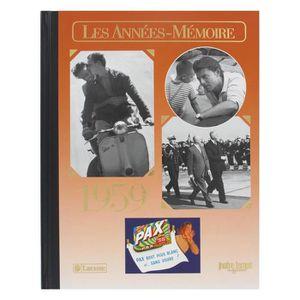 HISTOIRE ANTIQUE LES ANNEES-MEMOIRE 1959 Chronique de l'année 1959