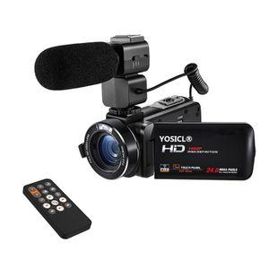 CAMÉSCOPE NUMÉRIQUE 1080P Full HD WiFi caméra vidéo numérique avec Mic