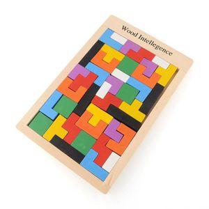 CASSE-TÊTE Bois Tangram casse - tête Puzzle Tetris jeu éducat