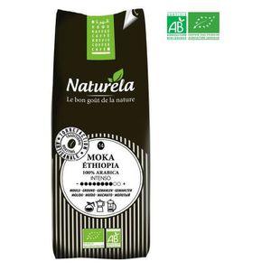CAFÉ - CHICORÉE NATURELA Café Moka Ethiopia 100% Arabica Moulu n°1