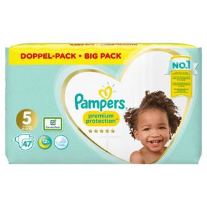 COUCHE PAMPERS Premium Protection Taille 5 11-23 kg - 47