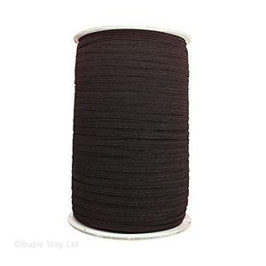 BOBINE DE RUBAN 7 mm de large ruban élastique Noir pour couture et 0e5541accd2
