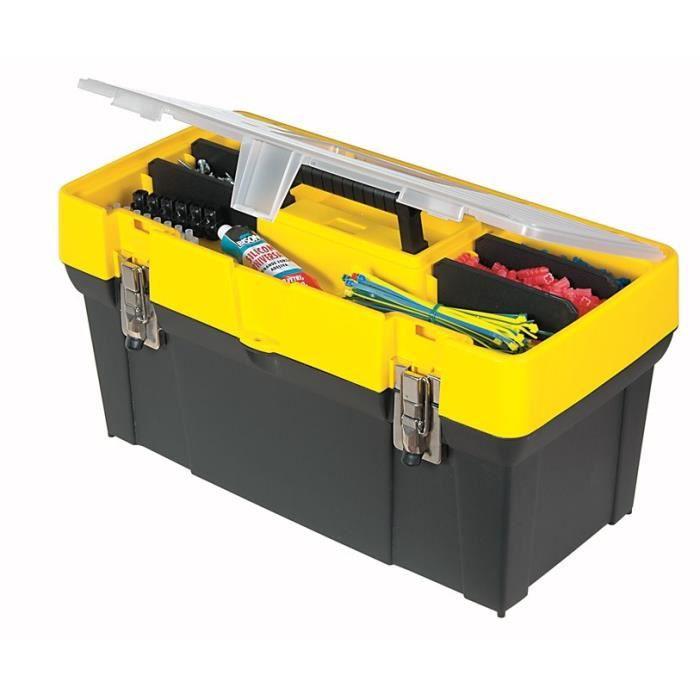 STANLEY Boîte à outils organiseur modulable vide