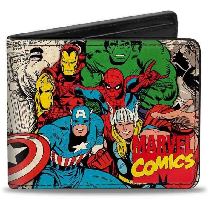 Porte-Feuille Marvel: Héros Marvel