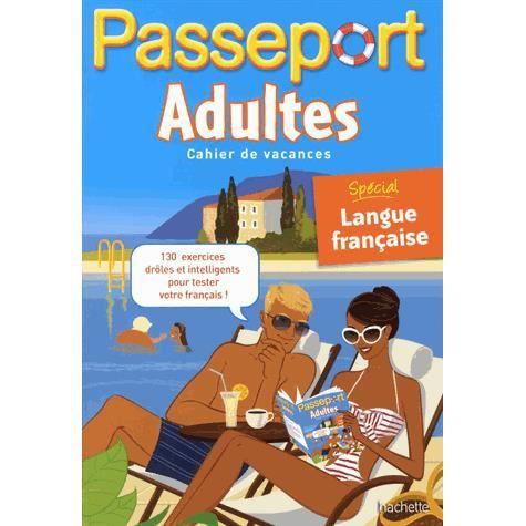 LIVRE JEUX ACTIVITÉS Passeport adultes