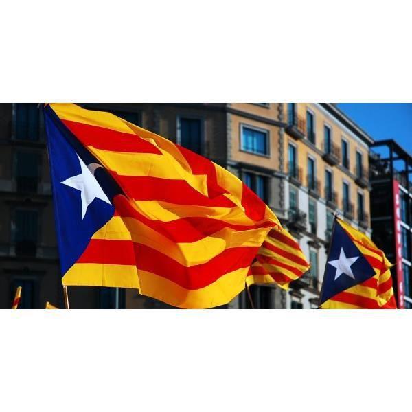 Drapeau Estelada Independantiste Catalan 90x60cm Achat Vente