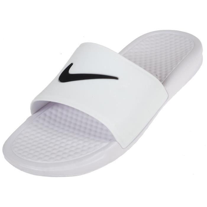 cheap for discount f4a39 39a7f MULE Claquettes mules Benassi blanc claquette - Nike