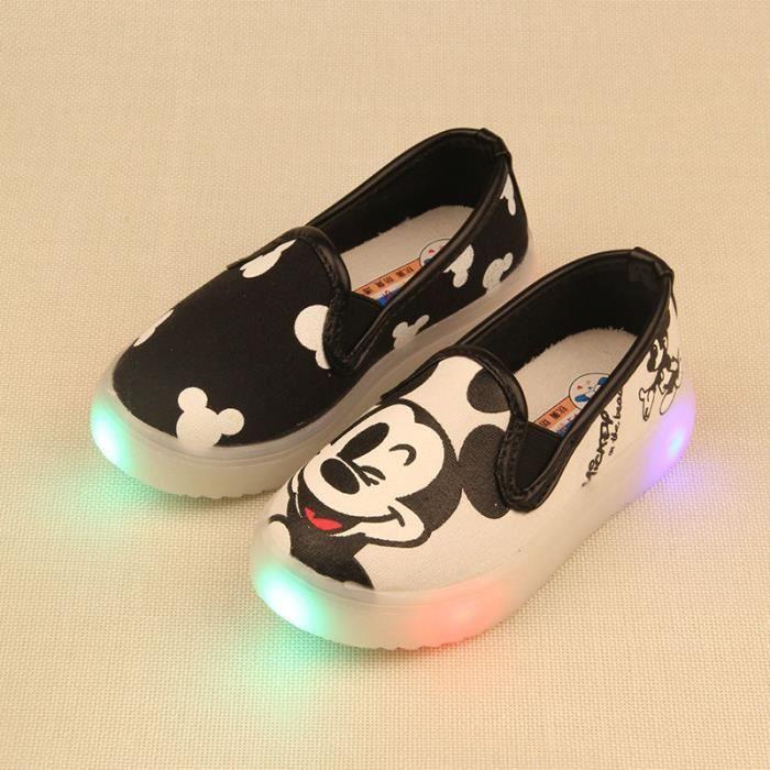 Enfants LED avec des chaussures garçons filles ... YRChoZ