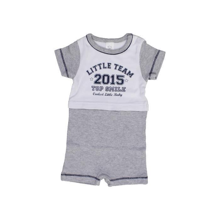 meilleur classique chic profiter de prix bas Combinaison courte bébé garçon C&A 6 mois violet été ...