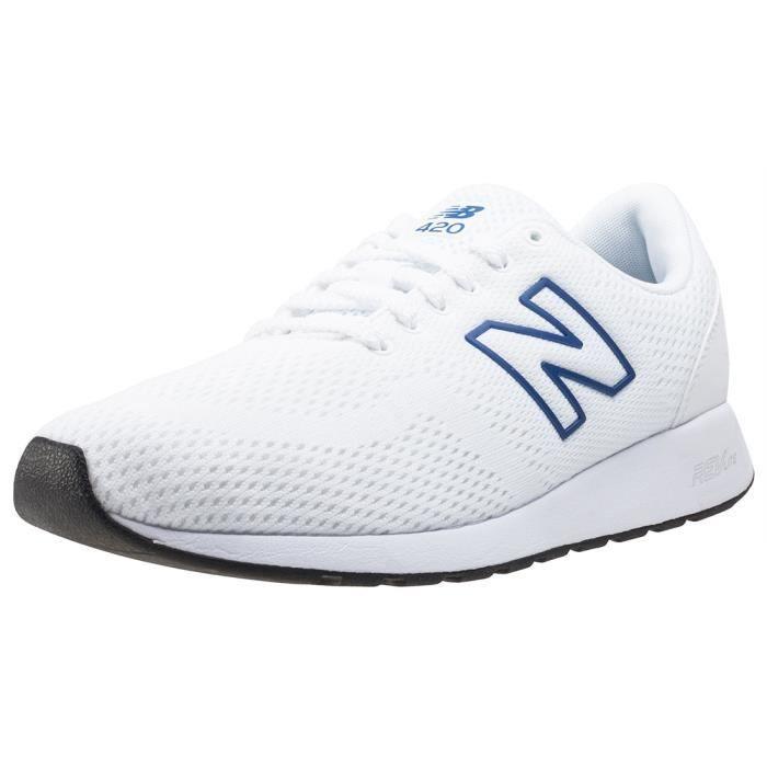 New Balance 420 V2 70's Running Hommes Baskets Blanc - 8 UK