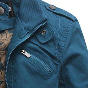 2fb3a1065358 ... VESTE Vêtements Veste de poche Casual hommes Brochage Co ...