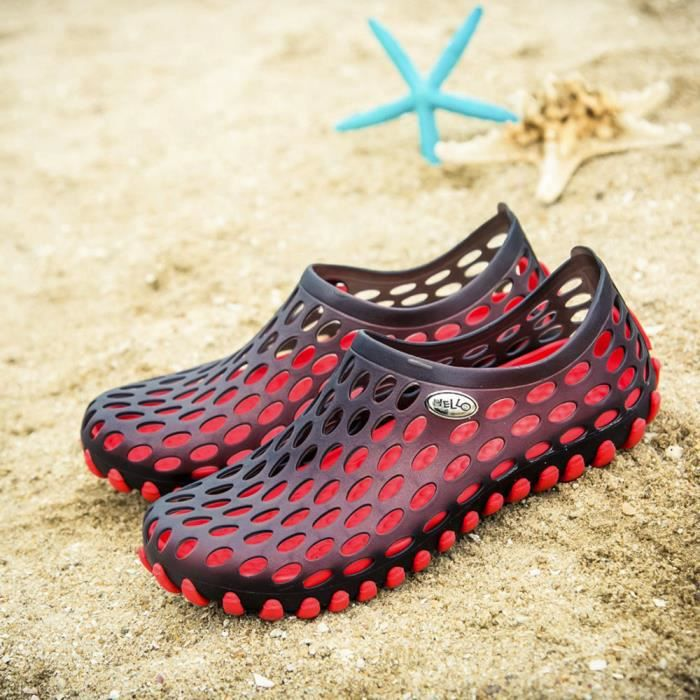 Rouge Chaussures Beach Femmes Hommes Sandales Respirant Xmm80315531rd Outdoor Séchage Rapide Slipper Unisexe SqzxAPZW