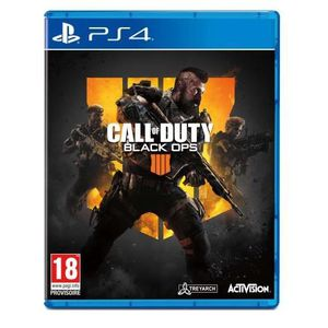 JEU NINTENDO SWITCH Call of Duty Black OPS 4 Jeu PS4 + 1 Coque Silicon