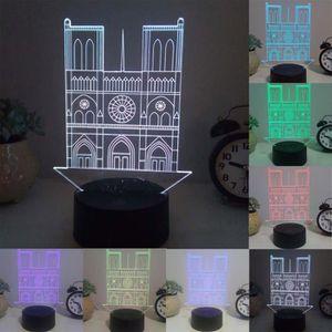 LAMPE A POSER ECLAIRAGE DE MEUBLE Nuit Lumière de Paris Table la