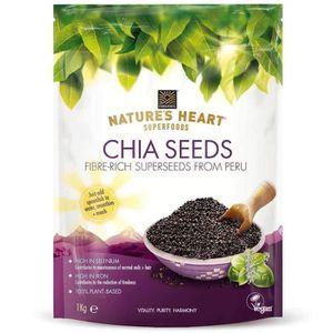 GRAINES - ARACHIDES Terrafertil Graines de Chia Nature's Heart, 1 kg