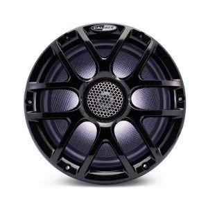 AUTORADIO BATEAU - HAUT-PARLEUR ÉTANCHE CALIBER Haut-parleurs Marine 20cm Noir CSM20RGB/B