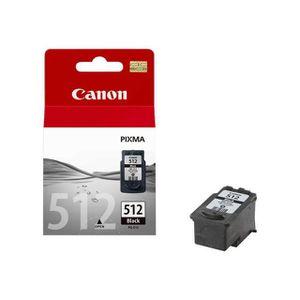 TONER CANON Cartouche d'encre PG-512 - Noir - Capacité s