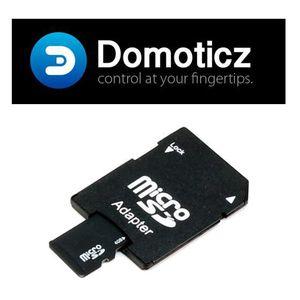 CARTE MÉMOIRE Carte Micro SD 8Go (adaptateur inclus) avec Domoti