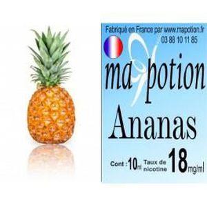LIQUIDE E-Liquide Fruit Ananas, Eliquide Français, recharg