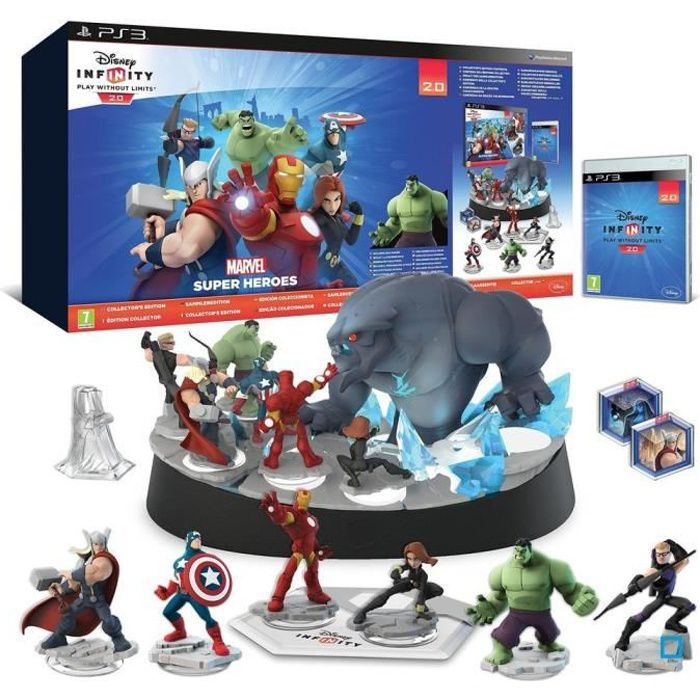 Pack Collector Disney Infinity 2 0 Marvel Super Heroes Ps3 Achat Vente Jeu Ps3 Disney 2 0