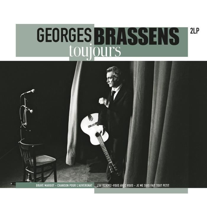 GEORGES BRASSENS Toujours - 33 Tours - 180 grammes