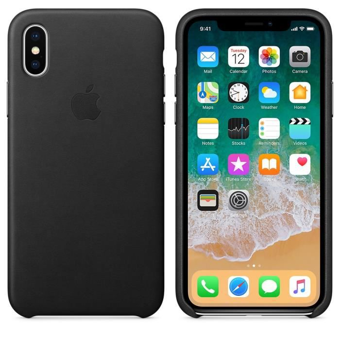 coque iphone x silicone double face