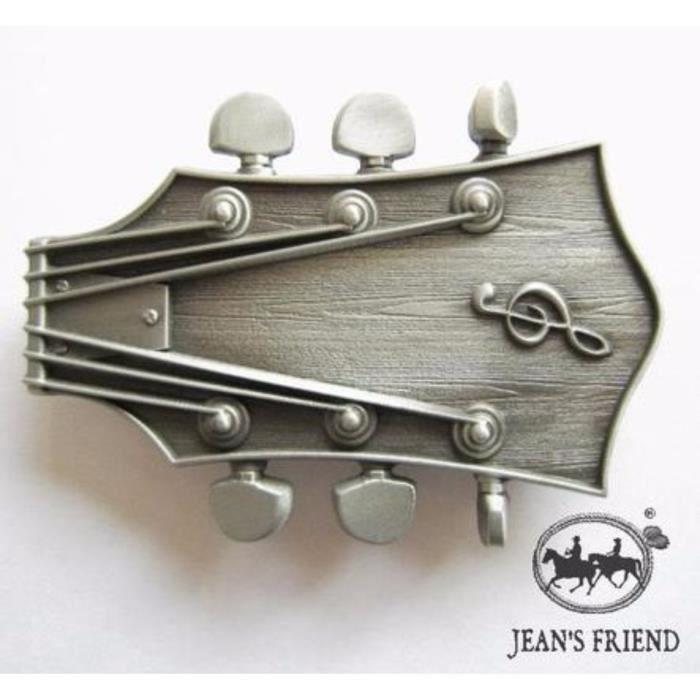 50f5a8f9dc44 boucle ceinture western country cowboy frettes de la guitare de l argent hat