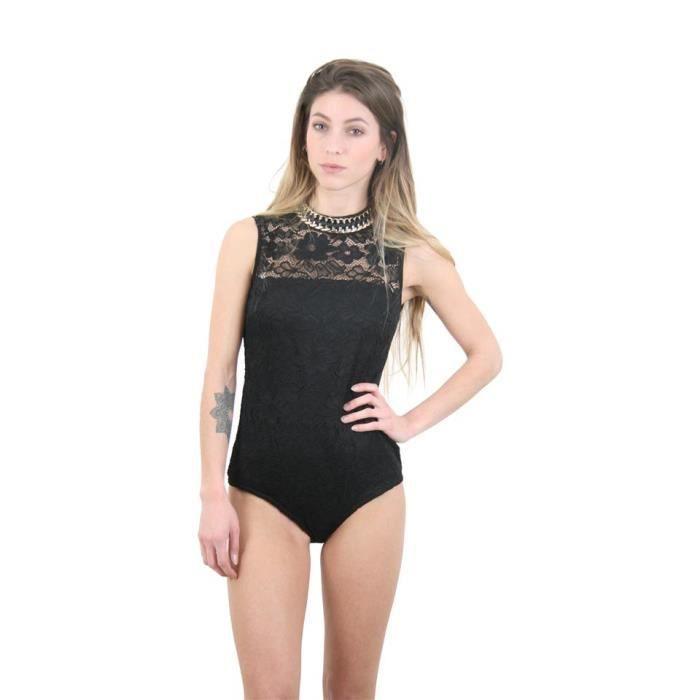 Body en dentelle à Noir - Achat   Vente body - Cdiscount 950a599eaf4