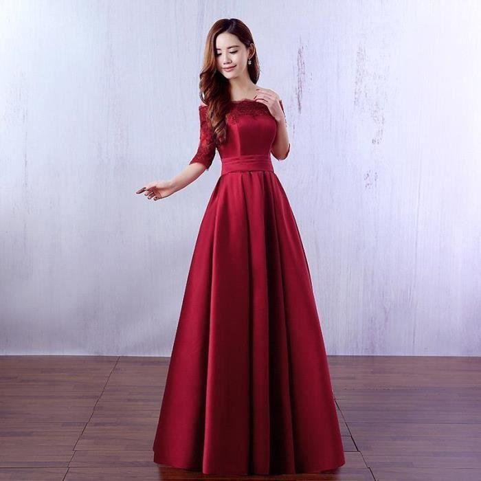 Robe de soiree chic et glamour pas cher