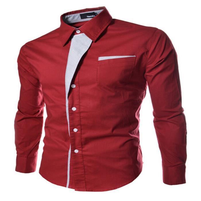 Vente chaude 2019 sélectionner pour le dédouanement le dernier chemise homme marque de luxe manche courte vetement hommes Nouvelle mode  blouse ete grande taille M-XXXL
