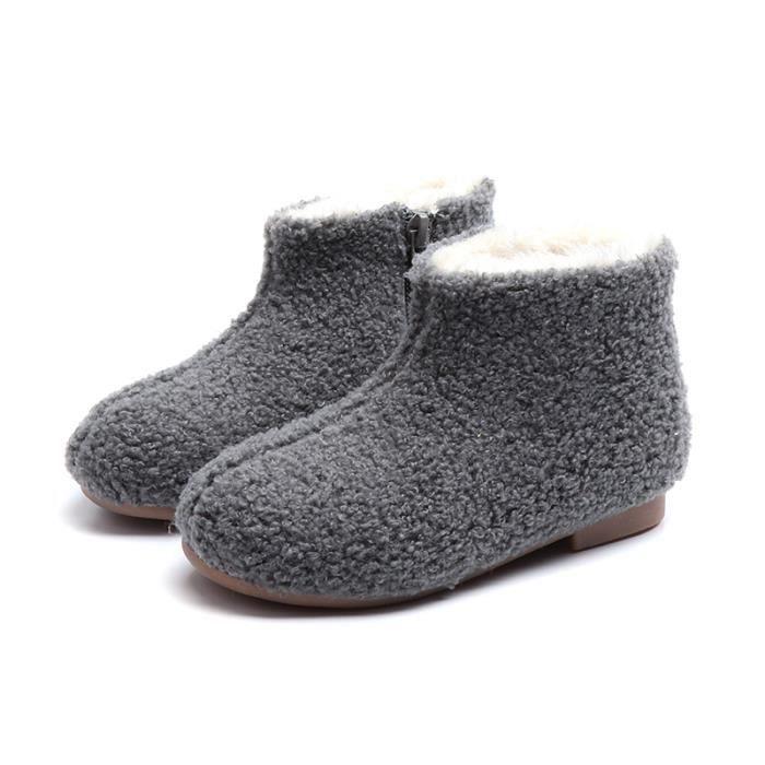Haute Simple Smg BottineBoots Enfants Qualité Mode tx2204 4jqcALR35S