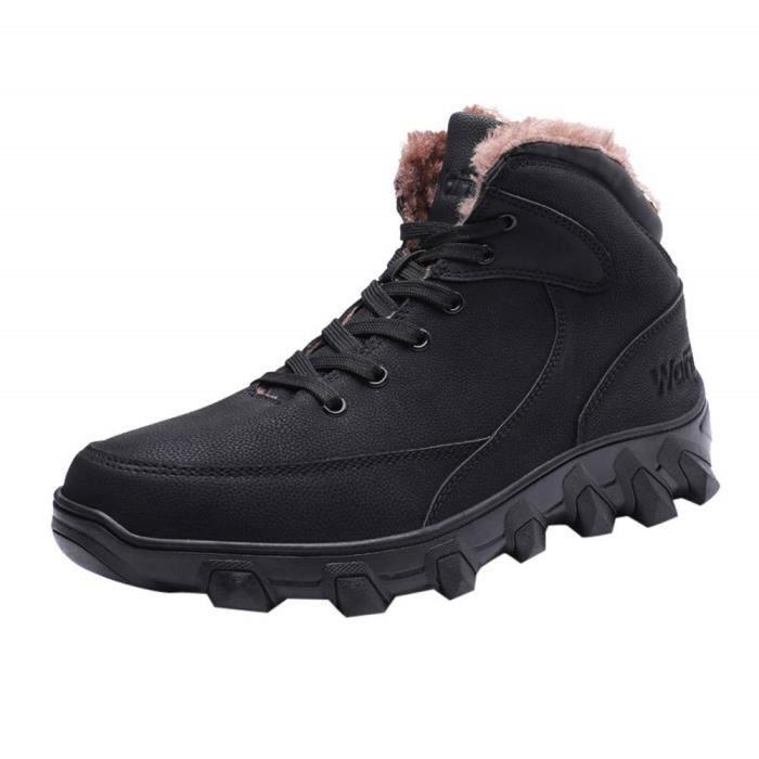 Adulte Bottes Pour Cuir Rétro Classique Homme Martin Classiques Hommes D'outillage Chaussures Hiver YWHDIE29