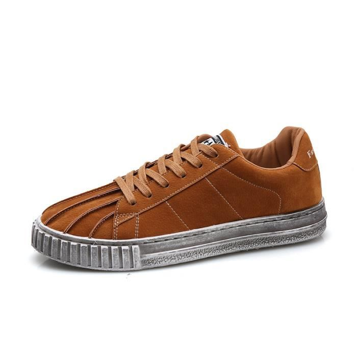 Toile Sneakers Hommes Casual De Coquilles Chaussures f7yvYb6g