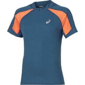 MAILLOT DE RUNNING ASICS T-shirt running homme - Bleu