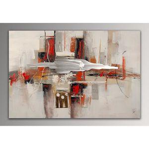 TABLEAU - TOILE Abstrait Tableau moderne peint à la main sur toile