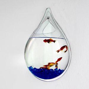 SOUS MEUBLE Suspendre Fish Tank Mural Vase Pot de Plante pour