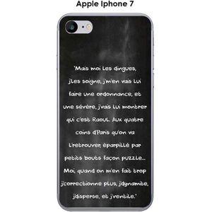 COQUE - BUMPER Coque Apple iphone 7 design Citation