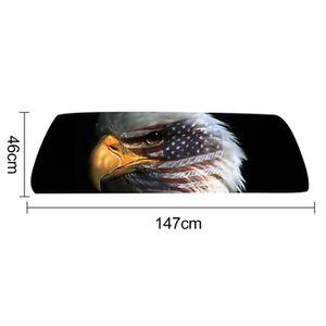 VOITURE - CAMION Drapeau américain Eagle Imprimer fenêtre arrière a